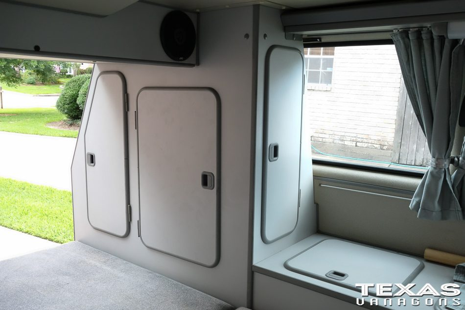 Vanagon Closet Door Addition