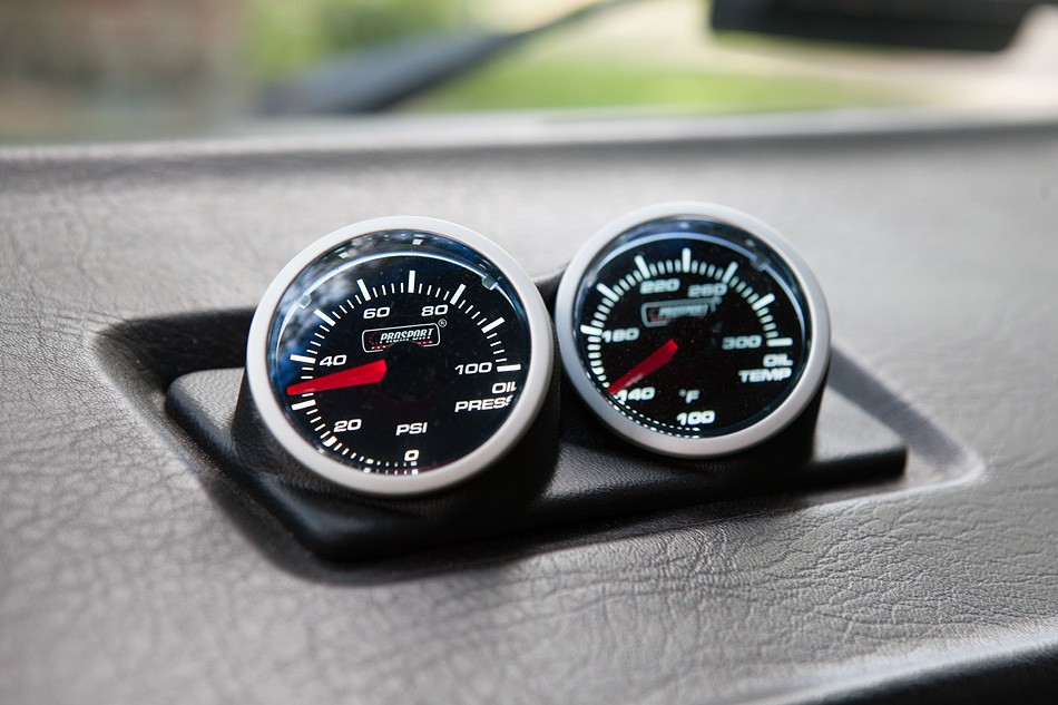 Oil Pressure & Temperature Gauge Pod