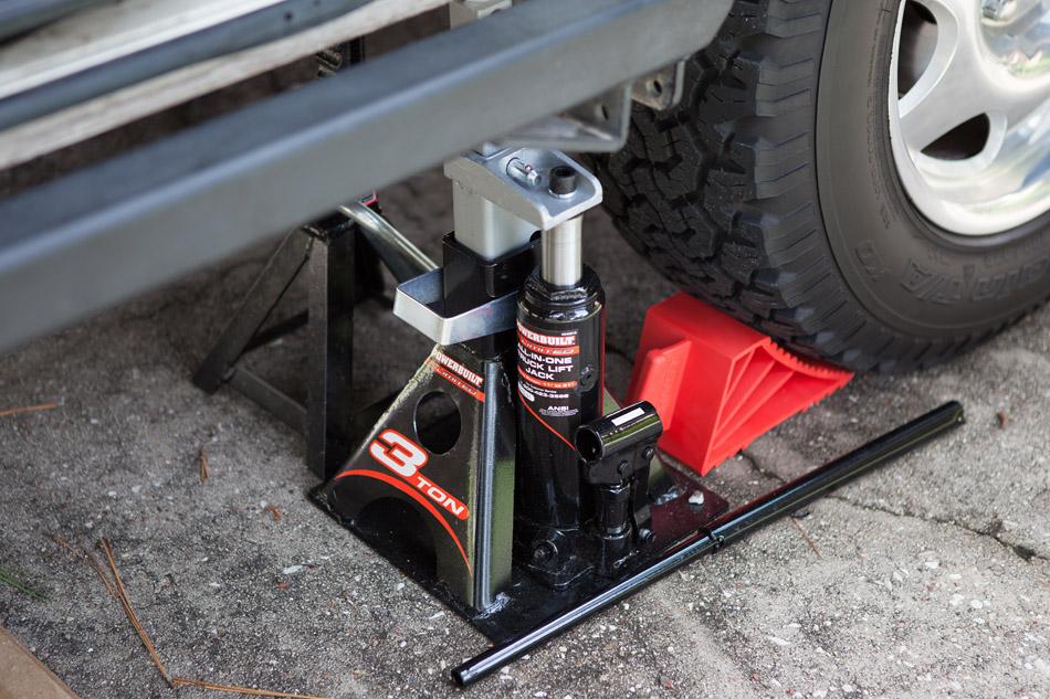Texasvanagons New Toys For Driveway Repairs
