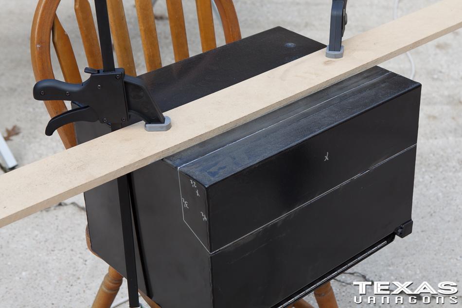 Texasvanagons Bench Seat Lock Box