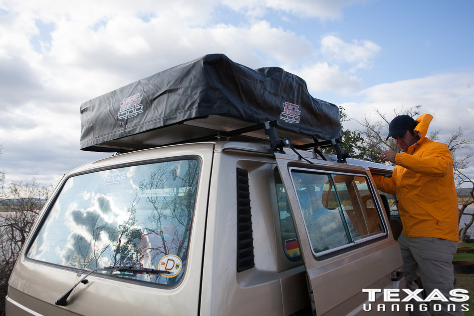 Roof Top Tent for a Vanagon or any Overland Vehicle & TexasVanagons u2013 Tuff Stuff Roof Top Tent